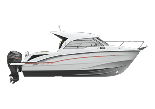 Motorboat Antares Hors Bord 8 Ob Powerboat Beneteau
