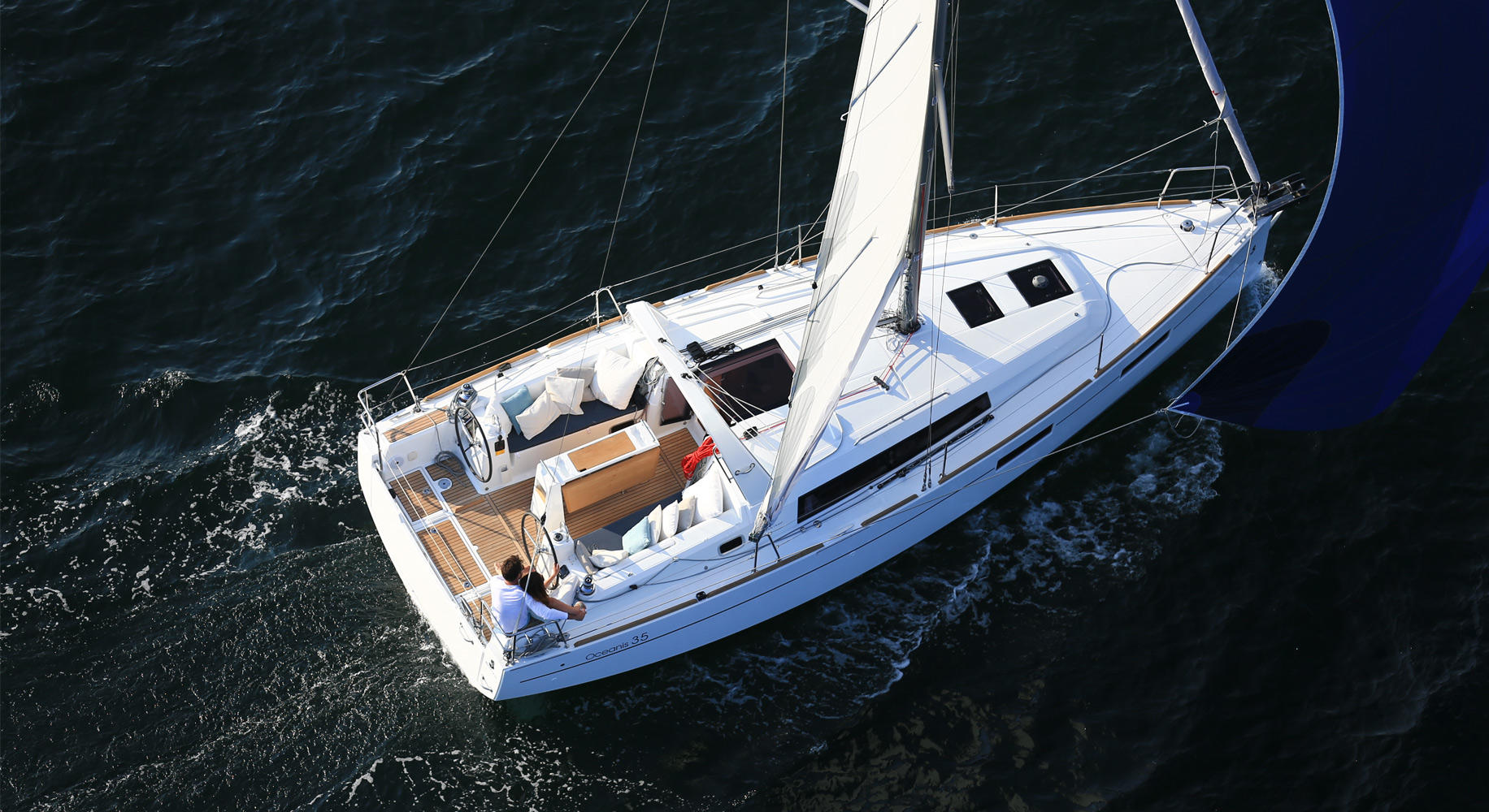 Oceanis 35 naviagation