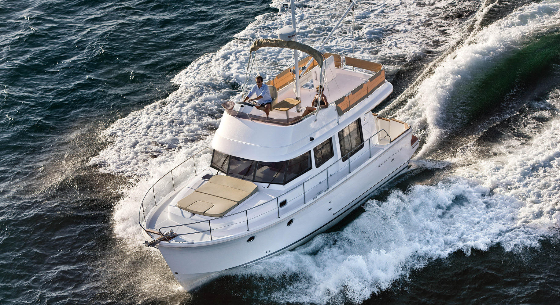 Swift Trawler 34 Navigation BlackW
