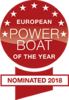 European power boat of the year - nominated 2018